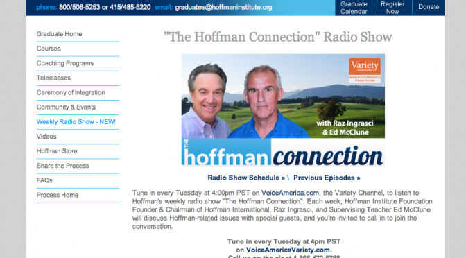 """The Hoffman Connection"" Radio Show"