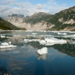 Ice Flow, McBride Glacier, Glacier Bay National Park, Alaska
