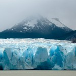 Grey Glacier with Mount Stokes, Torres del Paine, Chile