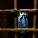 Through the Grille, Citadel, Aleppo, Syria