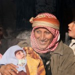Bedouin Mother with Children, Palmyra, Syria