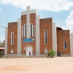 Sainte Famille Church in Kigali where 20,000 sought sanctuary and were slaughtered.