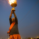 Ceremonial flame