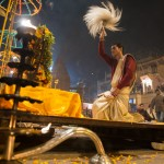 Evening ceremony, Varanasi