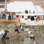 Doing laundry in the Ganges, Varanasi