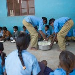 Lunchtime, Lai School, Udaipur