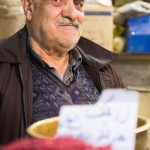 """On learning I was American, this spice vendor in the Isfahan market exclaimed, """"America, we've been waiting for you for 30 years!"""""""