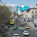 Billboards throughout Tehran are meant to inspire patriotism and support for the military.